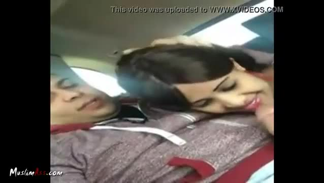 Muslim hijab blowjob in car and arab girl