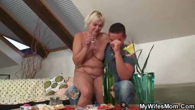 Nude desi mother in law