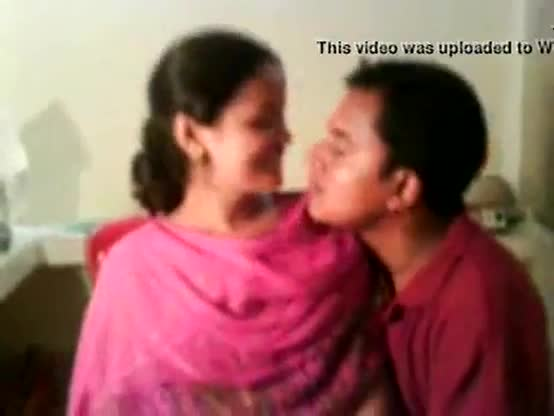 Cute indian lovers enjoying each other